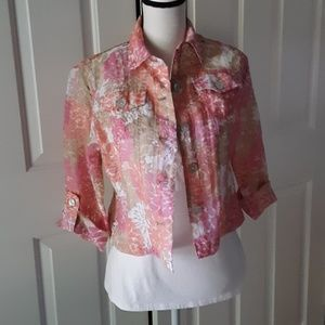 Ruby Road Button Up Top